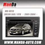 HD touch screen car dvd for Volvo S60 V70 car multimedia navigation system with Bluetooth audio Radio fm am