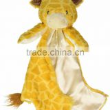 Cuddly Giraffe Baby Doudou Comforter Security Blanket Animal Toy