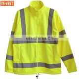 outdoor reflective winter safety jacket