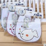 Embroidery Cute Baby Bibs Burp Cloths Baby Girl Boy Infant Saliva Towel Newborn Feeding Alivmenino Menina