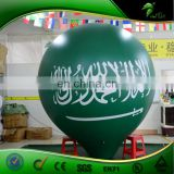Full Color Printing Flying Helium Hot Air Balloon Outdoor Advertising PVC Vinyl Ball