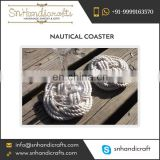 Good Quality Cheapest Handmade Nautical Rope Coaster for Sale