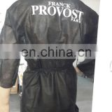 PP Nonwoven SPA Gown with printing logo