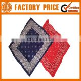 Top Quality 100% Cotton Custom Bandana Cap Pattern