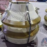 Sandvik H3800 cone crusher standard mantle/concave ring manufacture