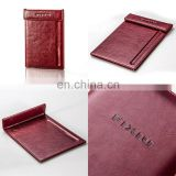 2014 New Product Custom PU Leather Memo Note Pad