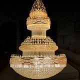 Popular Crystal Pendant Light LED Decorated Chandeliers for Living Room Decoration