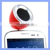 Camping Travel Music System Mobile Phone Audio Plug Half Ball Mini Speaker