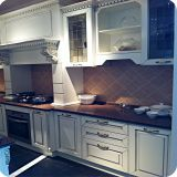 Solid Wood Kitchen Cabinets LW-EJ010