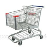 The shopping cart was inspired by a folding chair.