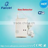 CE RoHS Supper quality guaranteed gas Detector Gas Sensor monitor Alarm for Home Security Safety