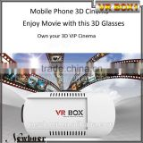 vr box 1 with remote OEM vr box virtual reality glasses 3d movies games welcome inquiry ~~~