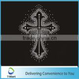 charming iron ons cross design