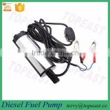 Mini Water Oil Diesel Fuel Transfer Pump On/Off Switch Submersible Car Van 38mm 12V 20W Stainless Steel