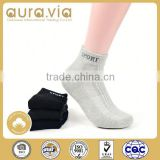 Professional Factory Supply anti-slip mens gray sports sheer ankle socks