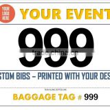 1 to 1000 Running Race Bib Numbers for All Events                                                                         Quality Choice