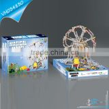 DIY Kids Toys Metal Brick Toy Ferris Wheel
