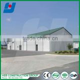 Exported To Africa Low Cost Light Prefab Workshop Steel Structure Construction Warehouse