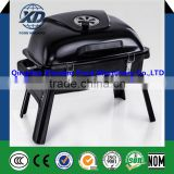 2016 fashionable Outdoor foldable enamel Japanese-style carbon barbecue grill