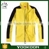 Special spring new authentic yellow outdoor Sportwear, men's singles thin mountaineering wear windproof Sport Jacket