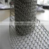 high quality galvanized gas-liquid separate filter/knitted wire mesh