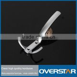 Classical Diecasting Zinc Alloy Hook ,Anti-rust Bathroom Hook,Doubled Brushed Cloth Hooks
