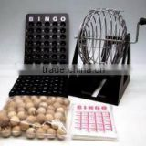 high quality metal 9 inch bingo game/toy bingo lotto game