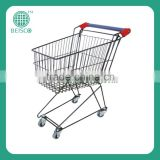 Smart Supermarket Trolley With Four Wheels