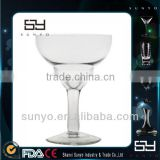 Soda Lime Mouth Blown Crystal Glass Margarita Cup