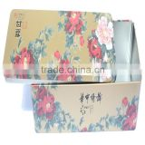 payment asia alibaba china dongguan wholesale metal tea tin cans/tea boxes/square tea box