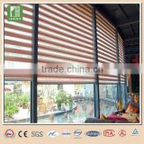 Polyester zebra roller blind fabric talking watch for blackout zebra blinds