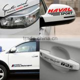 Hot selling Outdoor Customized color changing decals and lighted car decals,Waterproof die cut clear sticker ---DH20282