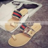 2016 Summer New Fashion Casual Hasp Flat Roman Sandals