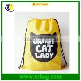 Custom promotional outdoor gym drawstring backpack bag                                                                         Quality Choice