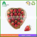 Plastic Material and Blister Process Type Heart Shape Clam Shell