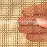 brass copper crimped wire mesh, brass bronze copper crimped wire mesh for screen/filter