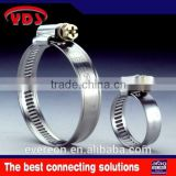 German stainless steel cross pipe clamp meter air hose clamp