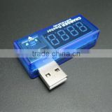 Digital USB Mobile Power charging current voltage Tester Meter Mini USB charger doctor voltmeter ammeter
