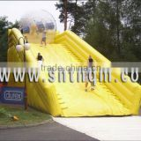 inflatable tumbleweed bumper ball/ inflatable body zorbing ball