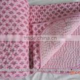 100% cotton kantha bed cover Wholesaler And Manufactureskantha quilts wholesale /vintage kantha quilts / Gudari Cotton Kantha Qu
