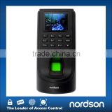 Biometric Fingerprint time attendance system device support RFID card fingerprint access control with HD LED Screen and keypad