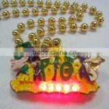 Light Up Beads Necklace Mardi Gras Beads Wholesale Round Beads