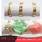 Wholesale China Products gold napkin rings