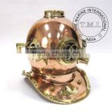 "17"" COPPER & BRASS DIVER'S HELMET MARK IV SPECIAL EDITION - VINTAGE NAUTICAL DIVING HELMET MARK IV -"