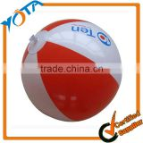 Promotion plastic beach ball with logo printing                                                                         Quality Choice