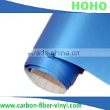 Sky blue 1.52*30m matt car wrapping vinyl sticker air bubble free for car full body decoration,good quality Best price