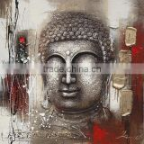 Hot sold handpainted 3D buddha oil painting