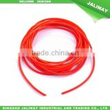 Small color amber natural latex rubber tube