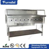 CE Approved Kitchen Equipment Stainless Steel gas outdoor portable bbq grill                                                                         Quality Choice