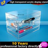 Cosmetic organizer makeup drawers Display Box Acrylic Cabinet Case Set Best